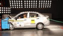 Chevrolet Sail Gets Zero Star Rating in Latin NCAP Crash Test