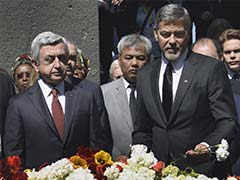Actor George Clooney Joins Armenians To Mark Anniversary Of Massacre