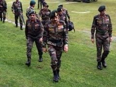 Indian Army Chief General Dalbir Singh Suhag Visits Violence-Hit Kashmir