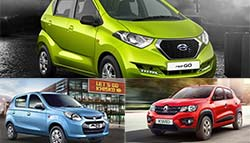 Datsun redi-GO Prices to Start Under Rs. 2.5 lakh; Can Rivals Match Up to It?