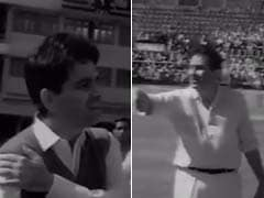 Raj Kapoor vs Dilip Kumar in Special Cricket Match. Howzat?