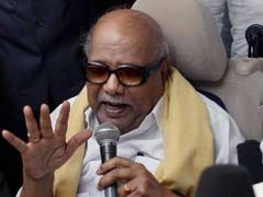 Karunanidhi Continues His Attack On Jayalalithaa Over Last Year's Flood
