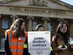 UK Doctors Walk Off The Job In All-Out Strike