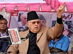 PDP And BJP Playing Opportunistic Politics, Says Farooq Abdullah