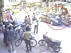 On Camera, Man Dragged By Runaway Driver After Fight On Gurgaon Road