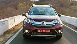 Honda BR-V Compact SUV Pictures Released