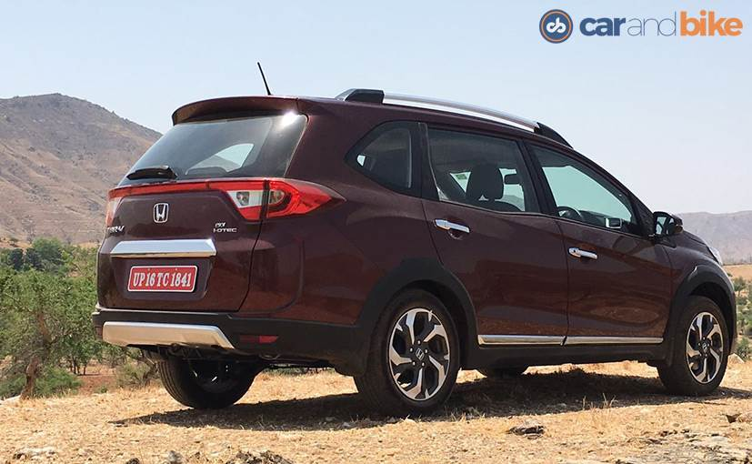 Honda Br V Compact Suv Launched In India Price Starts At