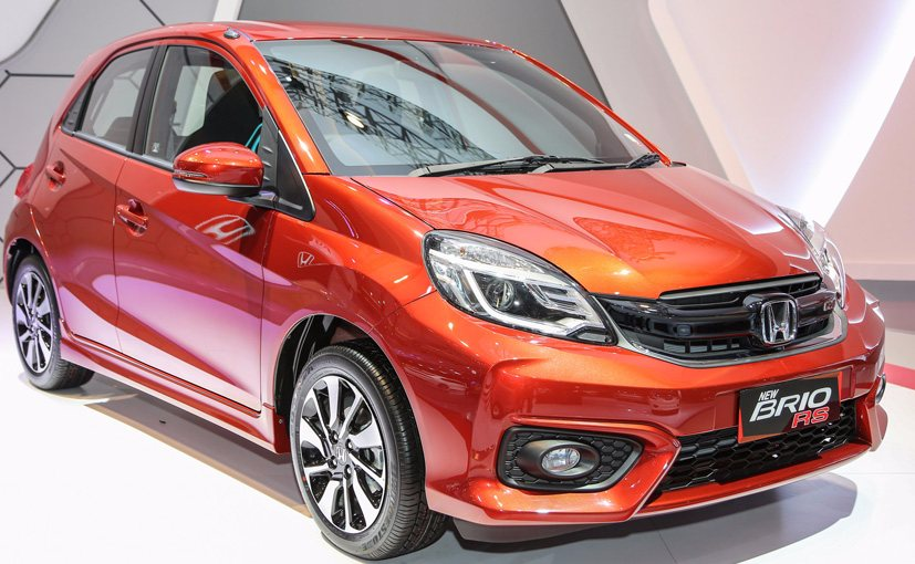 New Honda Brio RS Hatchback Showcased At 2016 Indonesia