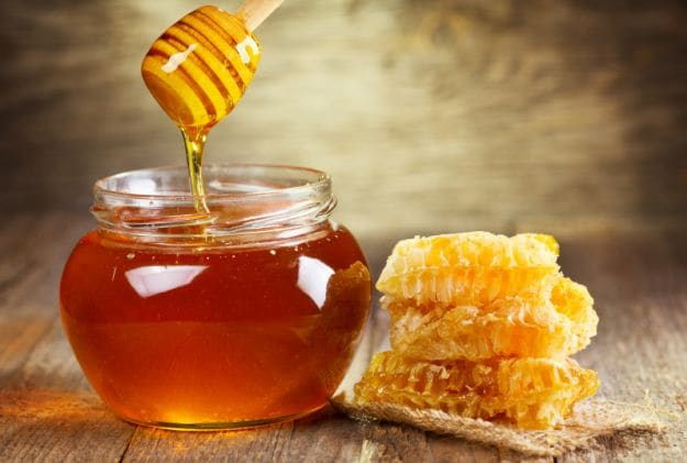 Honey is the antidote to wrinkles