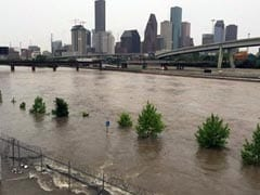 Houston Deluged, 5 Reported Dead In Texas Floods
