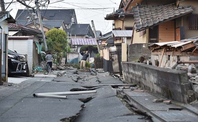 Western Japan Jolted By 5.4 Magnitude Earthquake