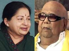 Jayalalithaa, Karunanidhi Lead In Tamil Nadu Assembly Polls