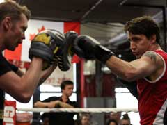 He Also Packs A Punch. Canadian PM Justin Trudeau At New York Boxing Gym