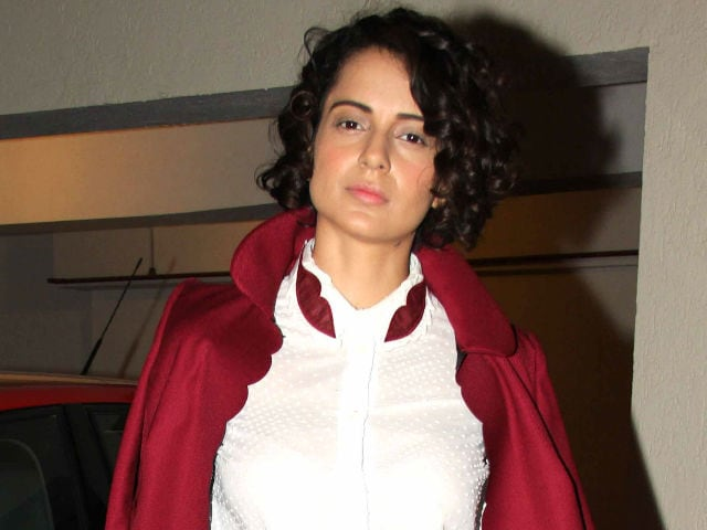 Kangana Ranaut Not in Sanjay Dutt Biopic, Has Another Film With Hirani