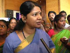 Kanimozhi Taken Into Custody During Protest