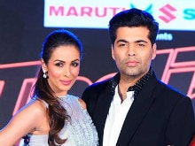 Karan Johar Keeps Malaika 'Entertained' on the Sets of India's Got Talent