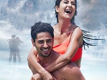 Katrina Kaif, Sidharth Malhotra ko Baar Baar Dekho on Poster #1