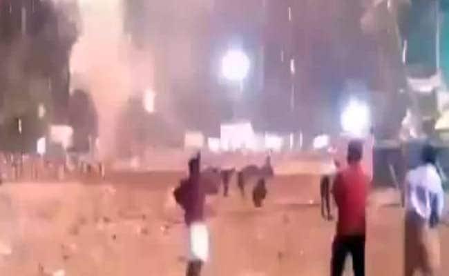 Watch: The Huge Explosion When Kollam Temple Fire Began