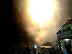 Kollam Temple Fire: New Video Captures Fireworks Morphing Into Disaster