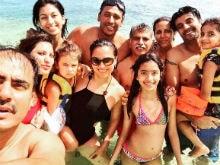 Lara Dutta Celebrates Birthday With Family in Mauritius