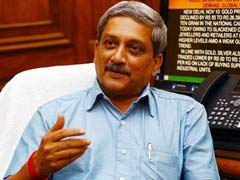 Manohar Parrikar Questions Congress's Claim On Blacklisting AgustaWestland