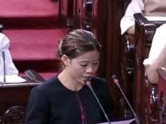 Nominated Members Take Oath In Rajya Sabha