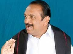 MDMK Chief Vaiko Stuns Party Workers, Opts Out Of Poll Race