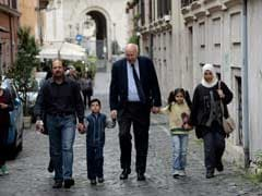 The Odyssey That Ended With A Muslim Family In Rome As Papal Guests