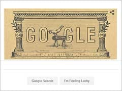 Google Marks 120th Anniversary Of First Modern Olympic Games With A Doodle