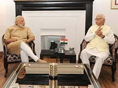 On Second Anniversary, LK Advani Praises Modi Government For Honesty