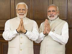 What PM Modi Said When He Met His Wax Twin