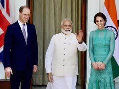 PM Modi Hosts Prince William And Kate For Lunch