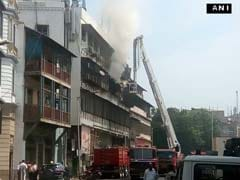 Fire At Commercial Four-Storey Building In Mumbai