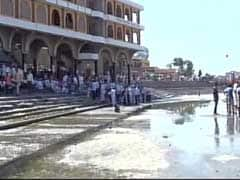 Tanker Water Used To Fill Spiritual Bathing Spot In Maharashtra