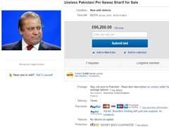 'Useless' Pakistani PM Nawaz Sharif Put Up For Sale On eBay, Gets 100 Bids