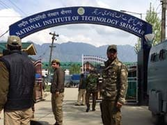 NIT Students Demand Permanent Deployment Of Paramilitary Forces In Campus