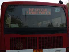 Odd-Even: Delhi Government Withdraws 4 Special Buses For MPs After Poor Response
