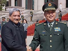 In Beijing, Defence Minister Parrikar Pushes Military Hotline For Border Dispute