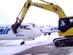 Plane Destroyed Allegedly By Fired Employee. 3 Lakh Views For This Video