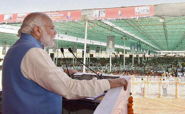 Congress Undermining Legacy Of BR Ambedkar, Says PM Modi