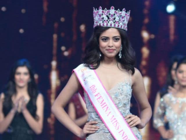 Priyadarshini Chatterjee Wins Miss India 2016