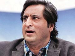 Unhappy Over Portfolio, Sajjad Lone Resigns From Mehbooba Mufti Government