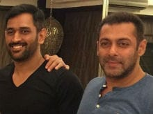 When Mahendra Singh Dhoni Met Salman Khan at His Bandra Home