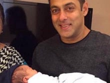 This Pic of Salman Khan With Sister Arpita's Baby Boy Ahil is Super Cute