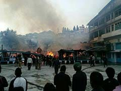 57-Year-Old School Destroyed By Fire In Shillong