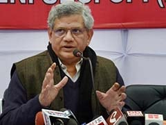 Sitaram Yechury Writes To Sushma Swaraj On Outfit's Claim Of Having Government Support