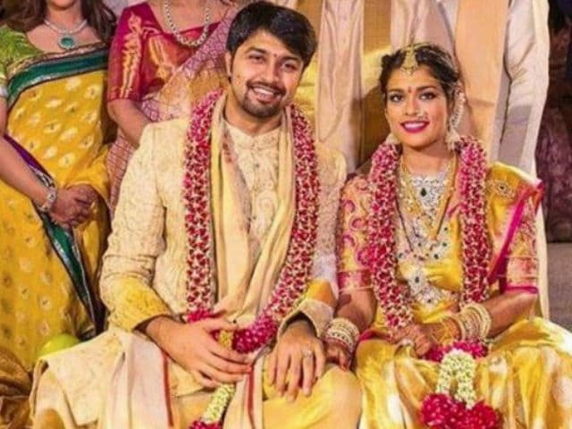47b183a0b5c9 This image was posted on Instagram by  prabhas ram rana fc. Highlights.  Srija and Kalyan married ...