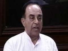 Subramanian Swamy Says Can't Choose RBI Governor On Basis Of Popular Vote