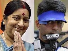 Abhinav Bindra, Sushma Swaraj Strike a Twitter Deal Over Lost Passport