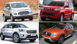 SUVs in India Under Rs 15 Lakh